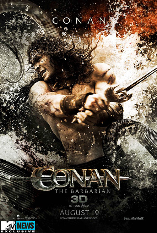 Conan the Barbarian character poster