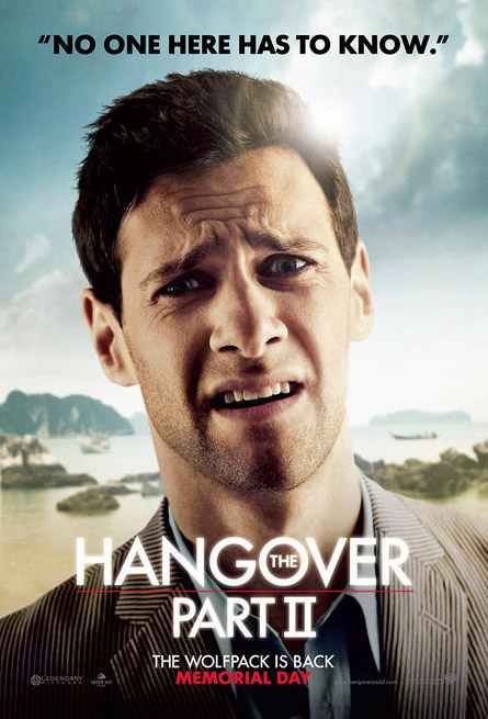 The Hangover Part 2 character poster