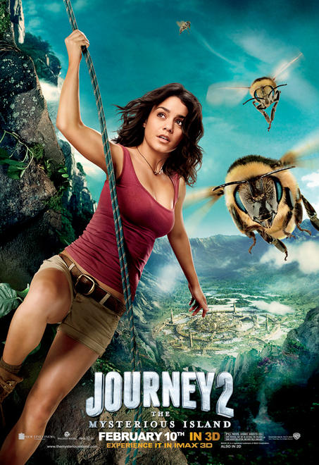 Journey 2 movie poster