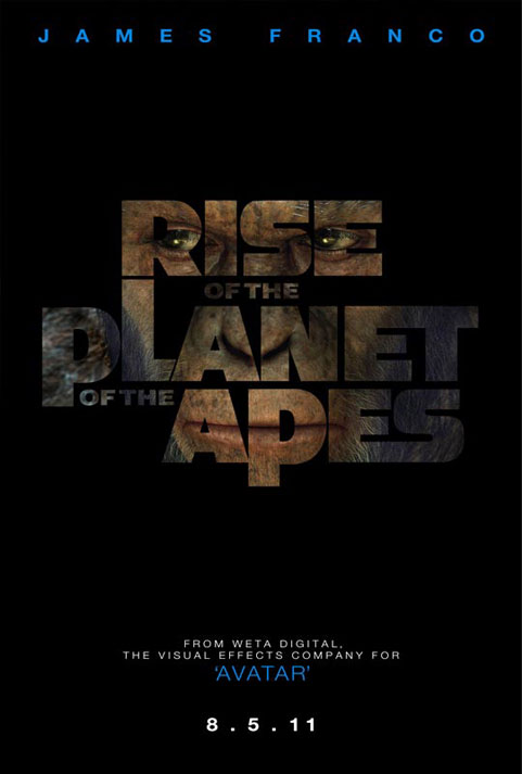 Rise of the Planet of the Apes movie poster