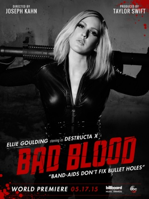 Taylor Swift Bad Blood character posters