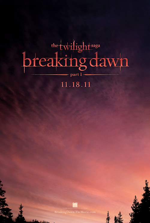 Twilight: Breaking Dawn movie poster