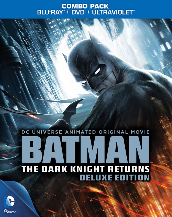 Batman: The Dark Knight Returns Deluxe Edition Blu-ray