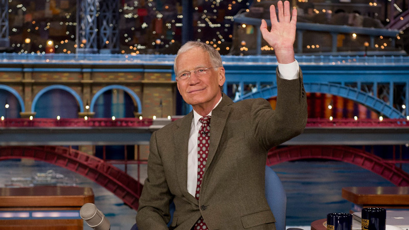 David Letterman Retirement Late Show