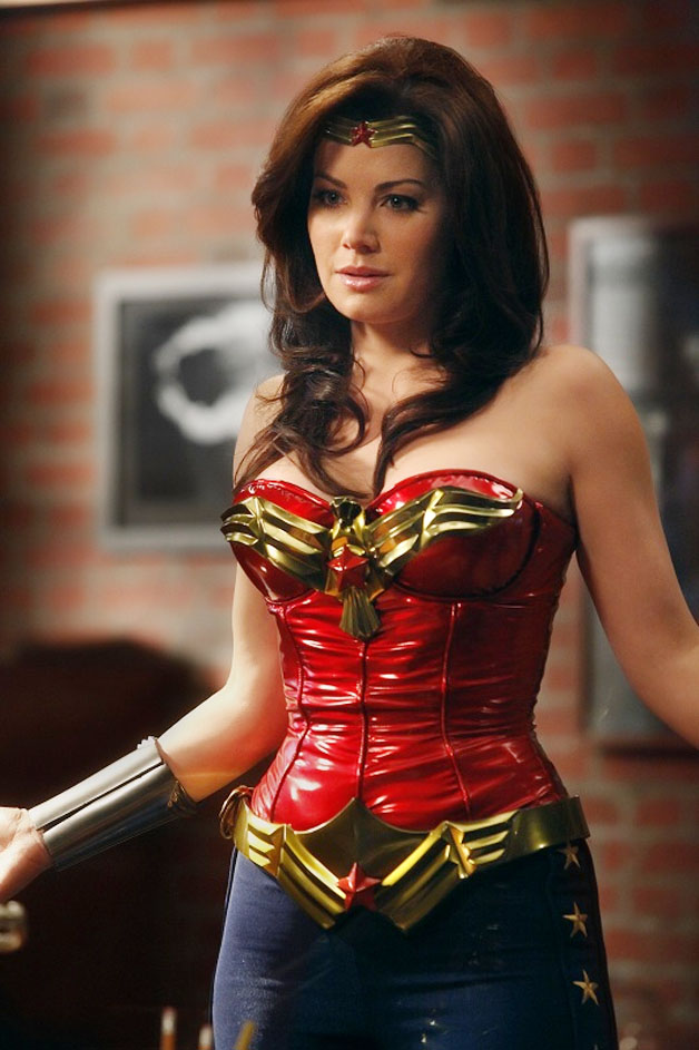 Erica Durance as Wonder Woman