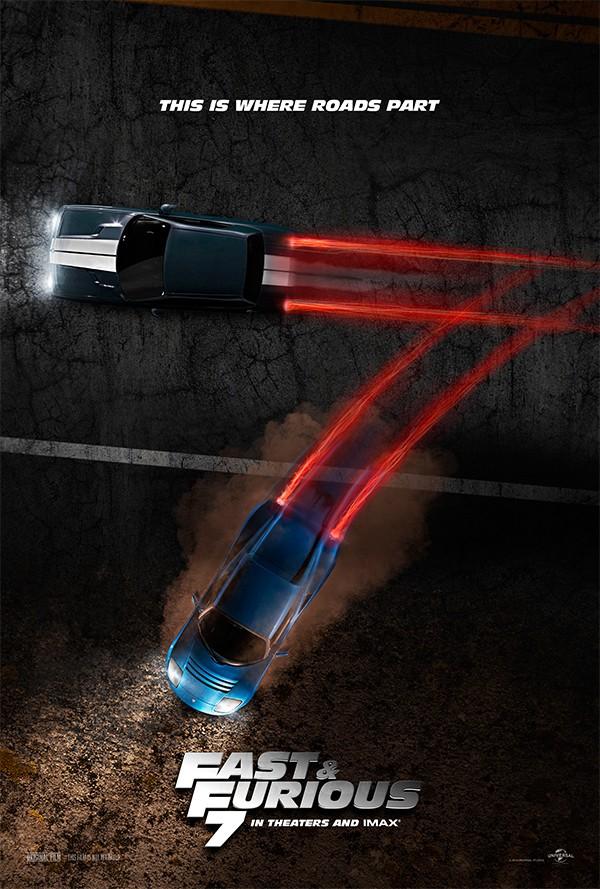 Fast & Furious 7 Fan Teaser Poster