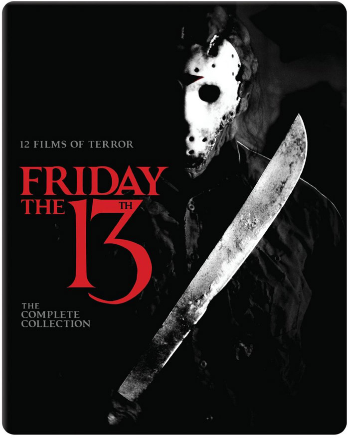 Friday The 13th: The Complete Collection Blu-ray Cover Art