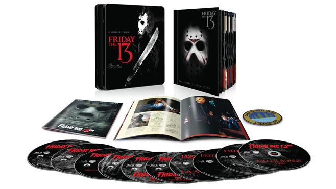 Friday The 13th: The Complete Collection Discs