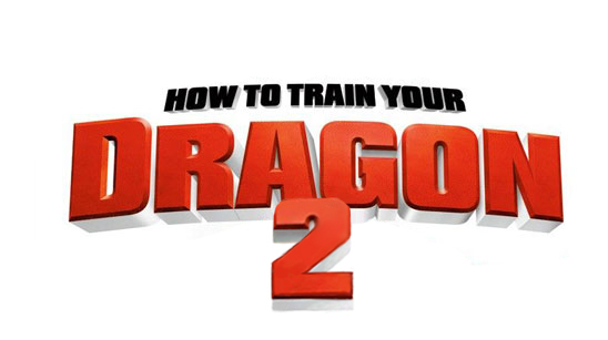 How To Train Your Dragon 2 title banner
