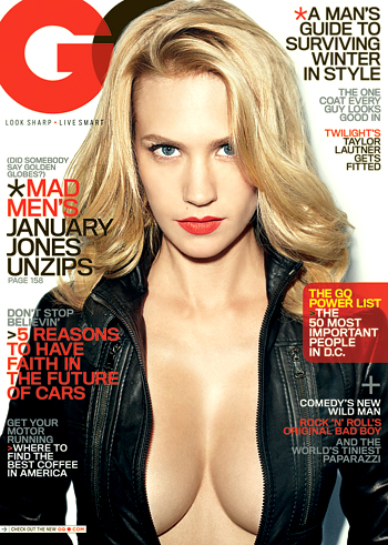 January Jones GQ