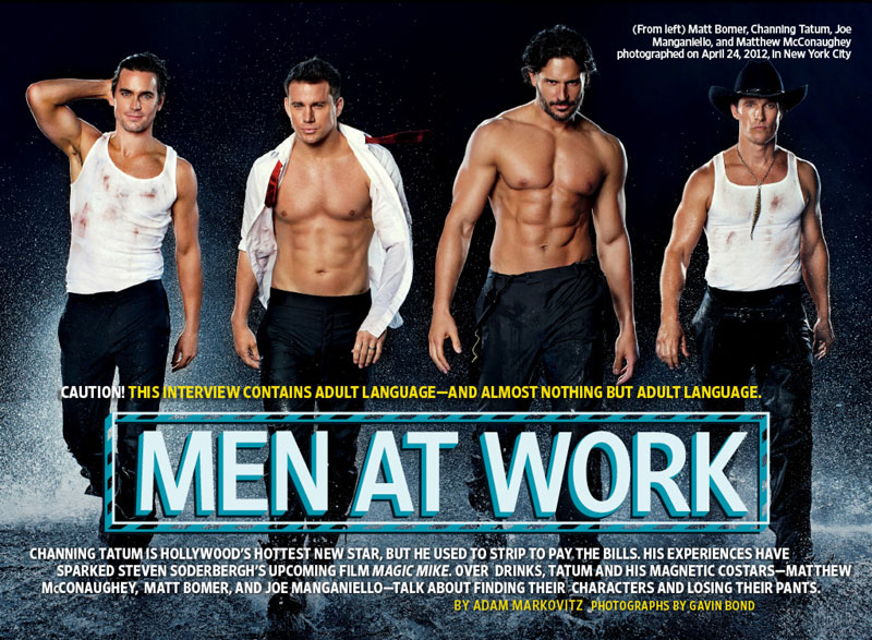 Magic Mike EW Cover
