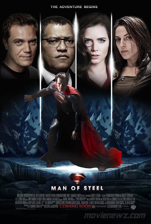 'Man of Steel' Fan Movie Poster - Movienewz.com