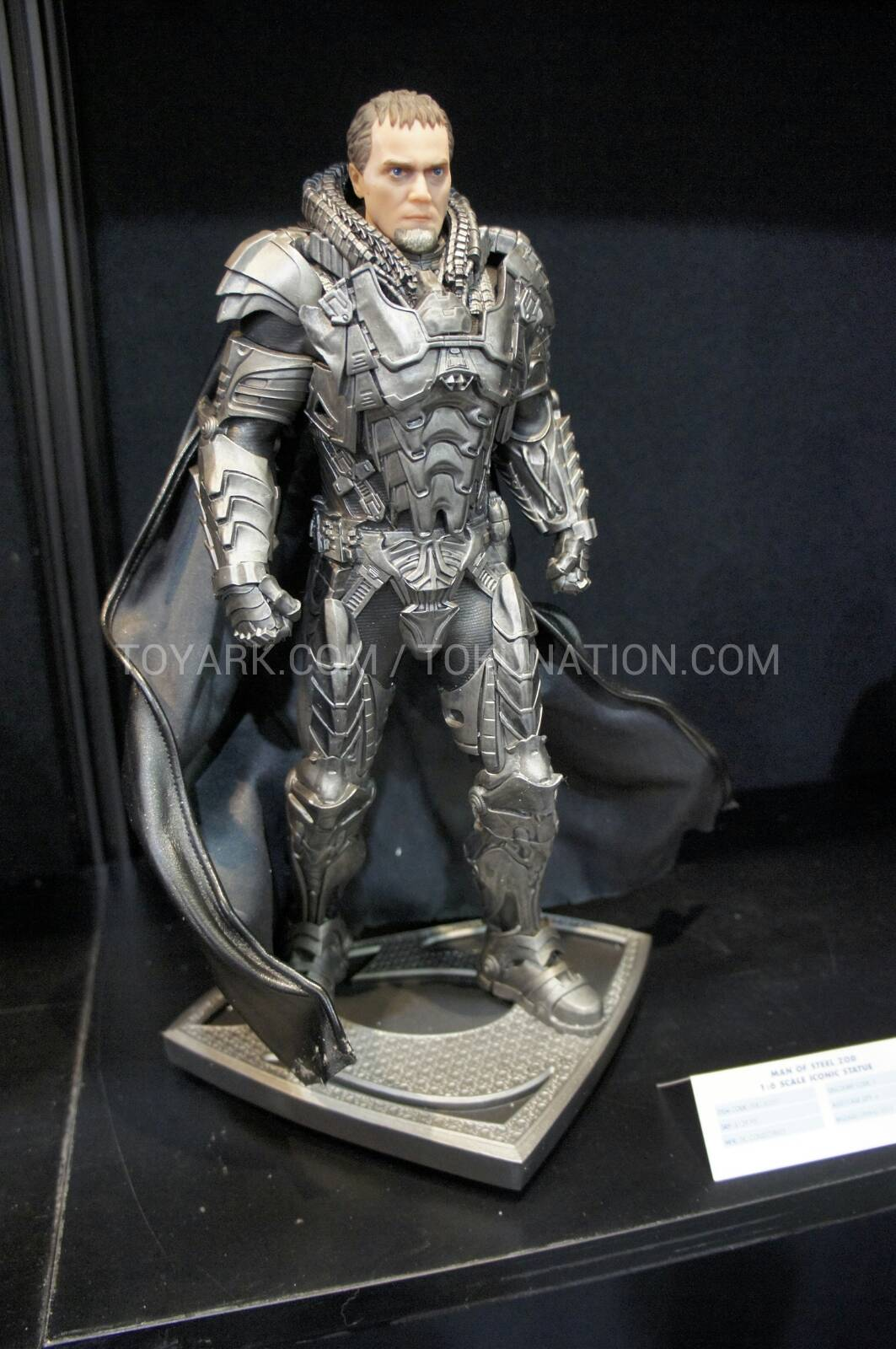 Man of Steel Statue