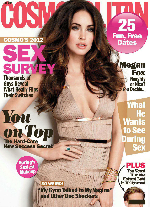 Megan Fox Covers Cosmopolitan