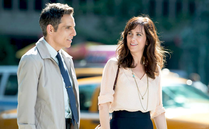 Ben Stiller and Kristen Wiig The Secret Life of Walter Mitty