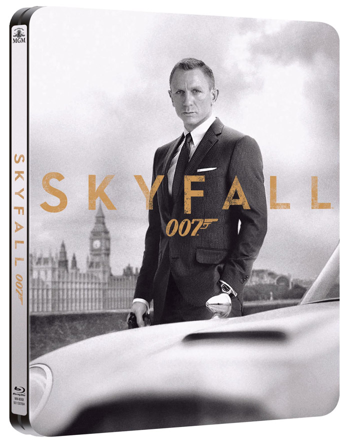 Skyfall Blu-ray Steelbook