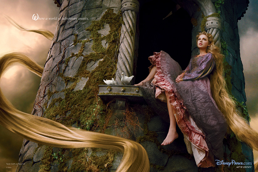 Taylor Swift Rapunzel Tangled