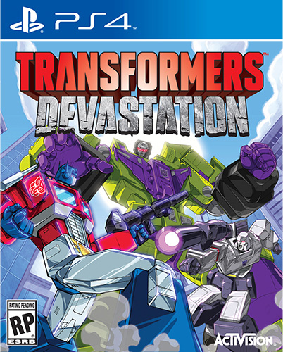 Transformers: Devastation game box art