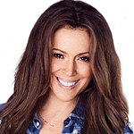 Alyssa Milano Gets Unbuttoned for Maxim Cover