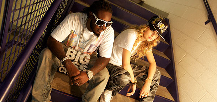 Taylor Swift and T-Pain 'Thug Story' Music Video and Photos