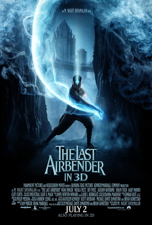 The Last Airbender in 3D Movie Posters