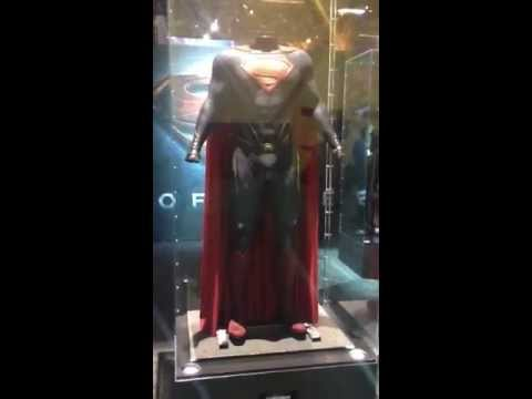 Licensing Expo 2012: Man of Steel Costume Photos