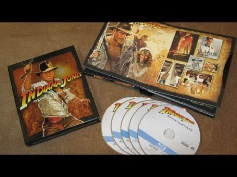 Indiana Jones: The Complete Adventures Blu-Ray Collection Unboxing