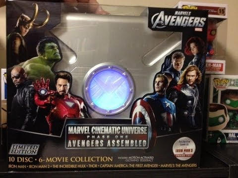 Unboxing Video: Marvel Cinematic Universe: Phase One Collection