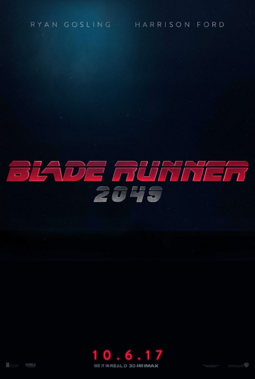 Blade Runner 2 movie poster
