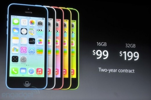 Apple Unveils New Low-Cost iPhone 5C, iPhone 5S & Fingerprint Sensor