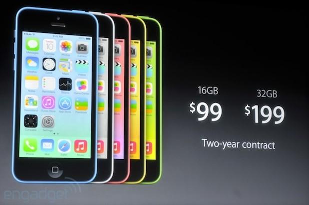Apple Unveils New Low-Cost iPhone 5C, iPhone 5S & Fingerprint Sensor