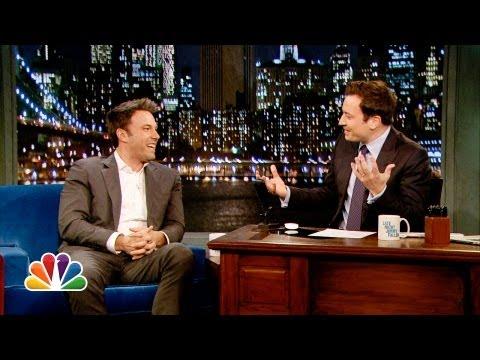 Video: Ben Affleck Talks Batman