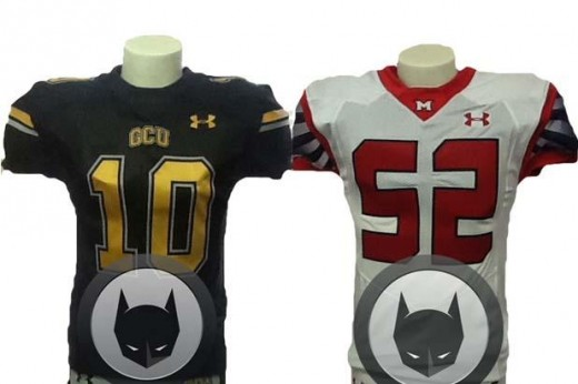 Batman vs. Superman Production: Check out the Gotham and Metropolis Football Jerseys