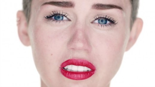 Miley Cyrus and Sinead O'Connor Wrecking Ball Mashup Music Video