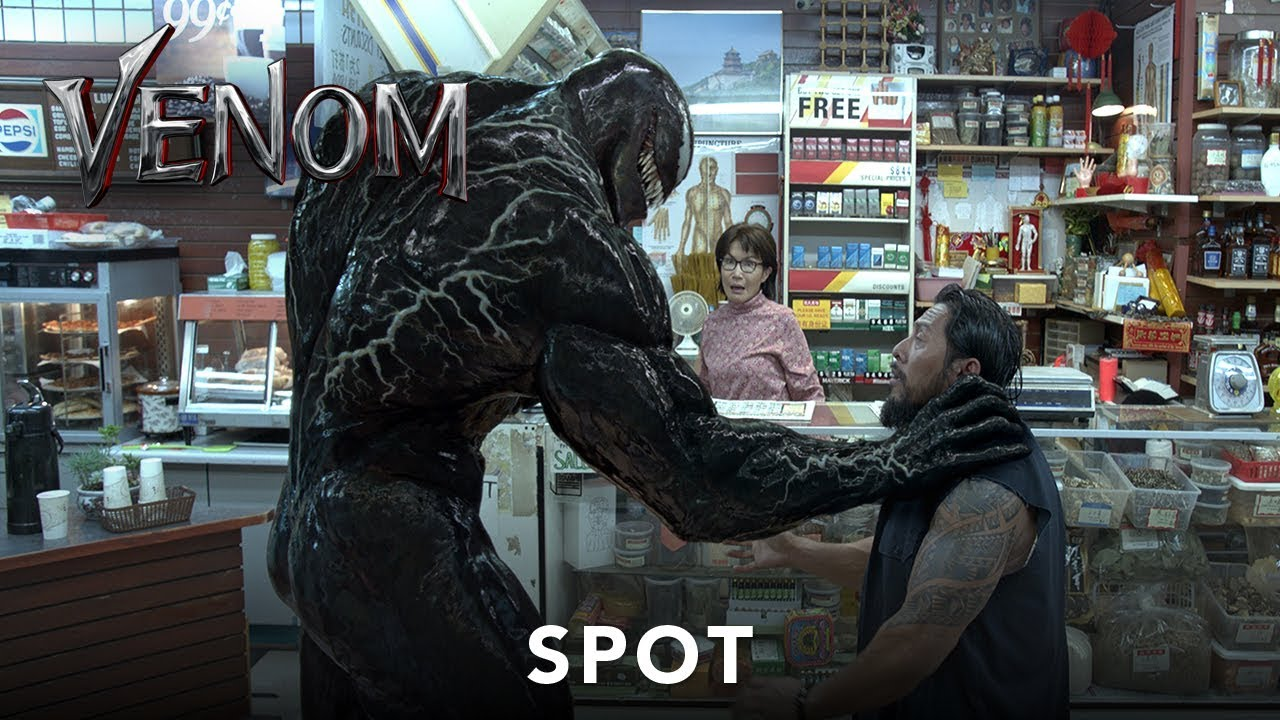 New 'Venom' TV Spots Reveal New Footage