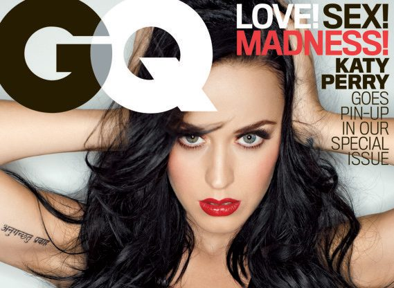 Katy Perry Covers GQ in Sexy & Revealing Swimsuit