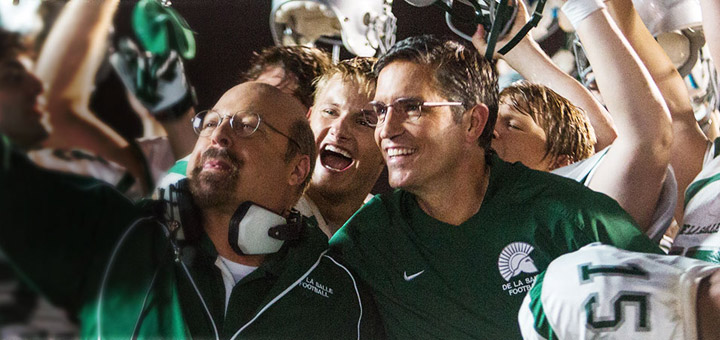 Jim Caviezel Coaches Football in 'When the Game Stands Tall' Trailer