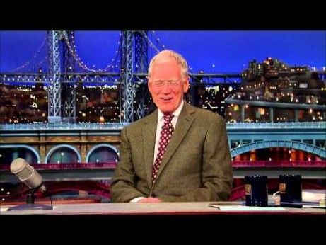 David Letterman Announces His Retirement from the Late Show