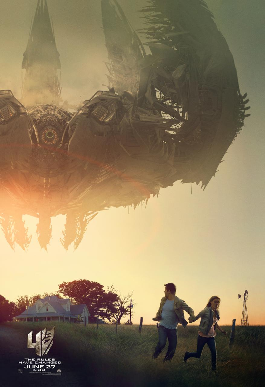 Transformers: Age of Extinction poster