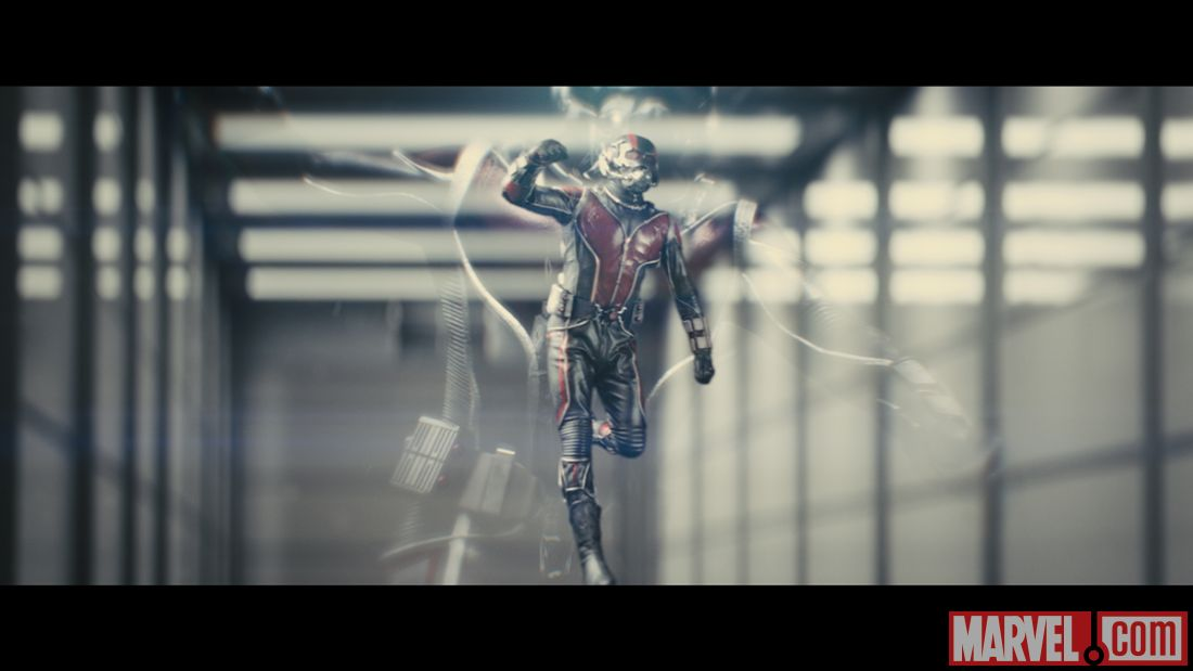 Ant-Man movie test footage