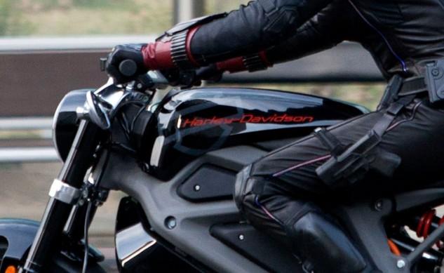 Black Widow Harley Davidson LiveWire