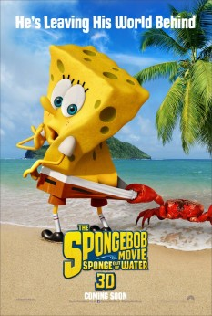 First Poster Surfaces for The SpongeBob Movie: Sponge Out of Water