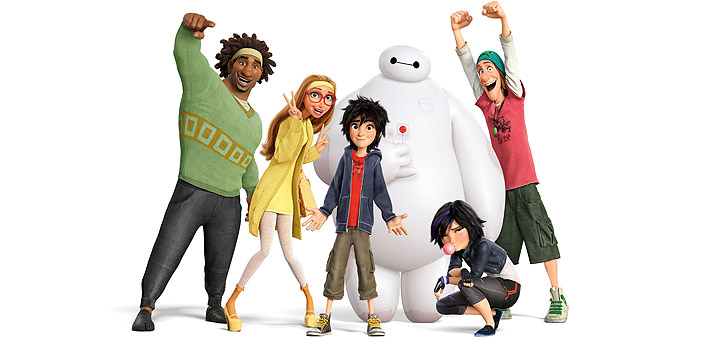 Disney's Big Hero 6 Blu-ray, DVD Coming in February