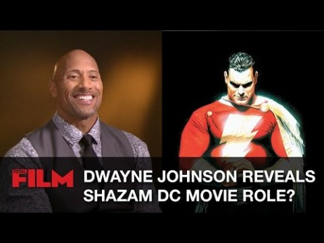 Dwayne Johnson is Shazam?
