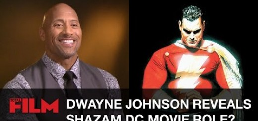 Video thumbnail for youtube video Dwayne Johnson is Shazam?