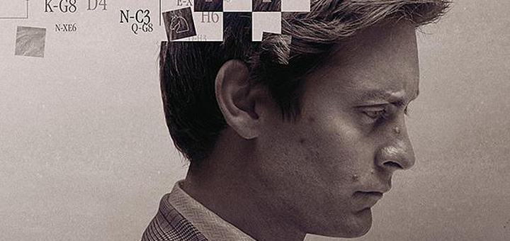 Pawn Sacrifice Poster: Tobey Maguire Is Bobby Fischer