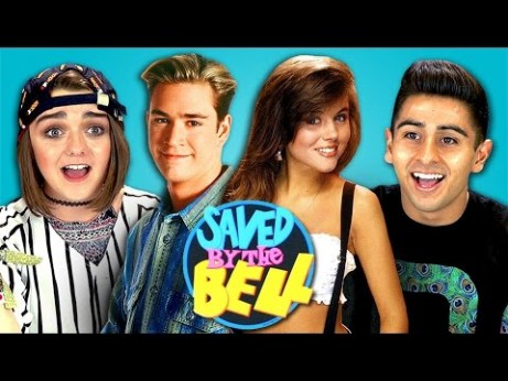 I Feel Old: Today's Teens React To 'Saved by the Bell'