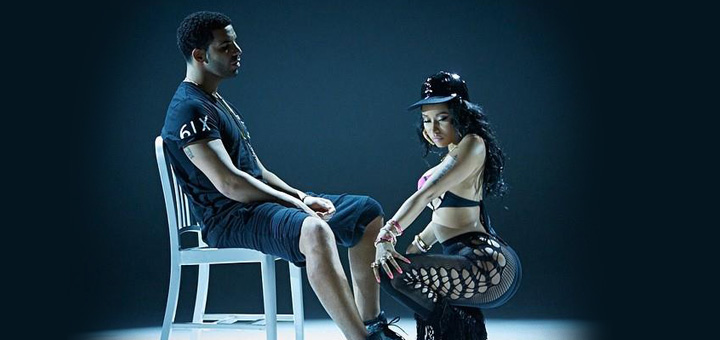 Nicki Minaj 'Anaconda' Music Video Debuts, Drake Gets a Lap Dance