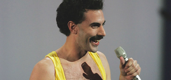 Sacha Baron Cohen to Direct and Star in Freddie Mercury Biopic