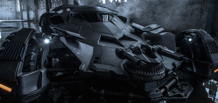 Official Full Photo of Batmobile from Batman v Superman!